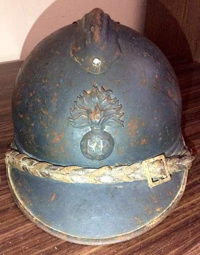 M15 Adrian Officer Infantry Helmet