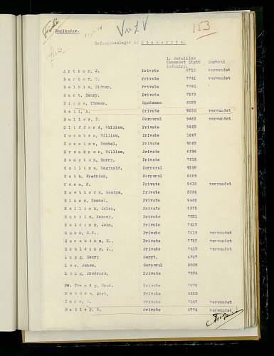 1914 star medal group Pte J Arthur 1st Batt Prince Alberts Somersetshire Light Inf ww1 POW