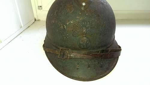 M15 Adrian Infantry Helmet