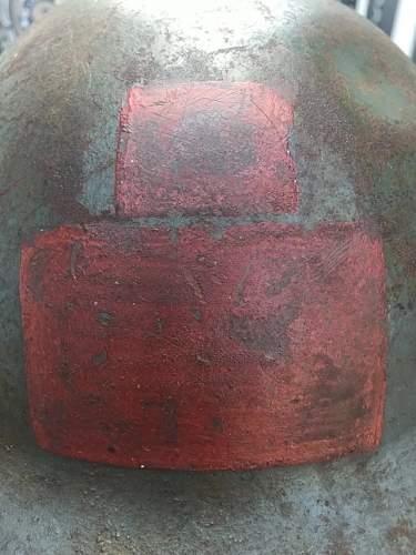 Canadian 10th batt. Helmet