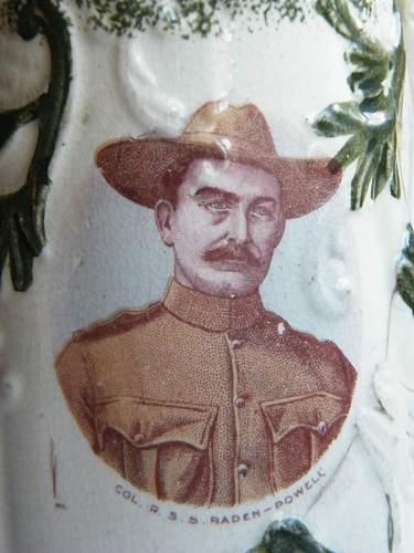 Boer war patriotic hankie!