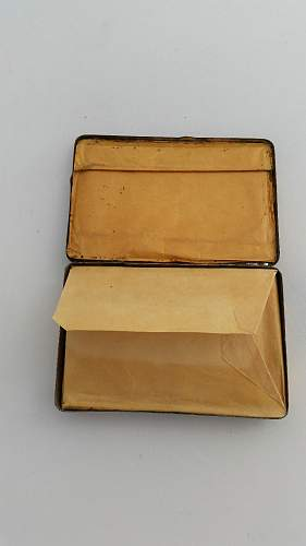 Princess Mary's gift tin 1914
