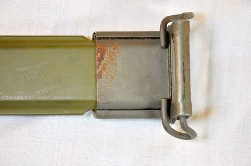 US Model 1905 R.I.A. 1906 Bayonet