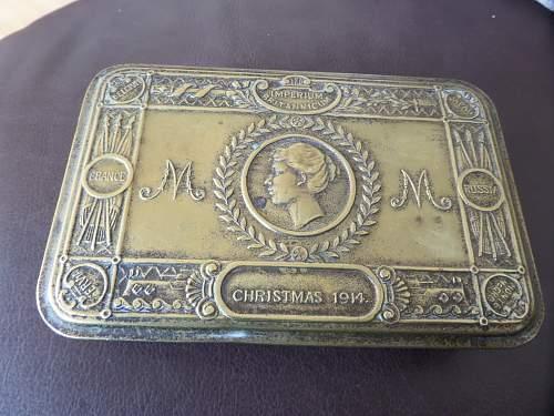 Princess Mary's Gift Tin flea market find