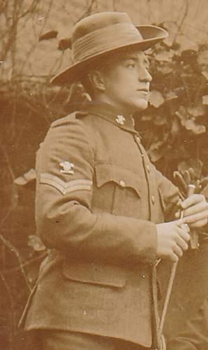 Boer War, WWI, possibly a Welsh Regt.?
