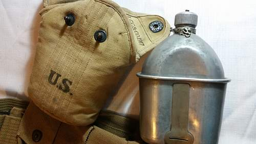 A Nice US Canteen and Ammo Belt
