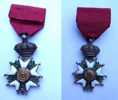 My first French legion d'honneur
