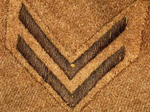 Signal Corps Uniform (Advanced Section-Service of Supply)