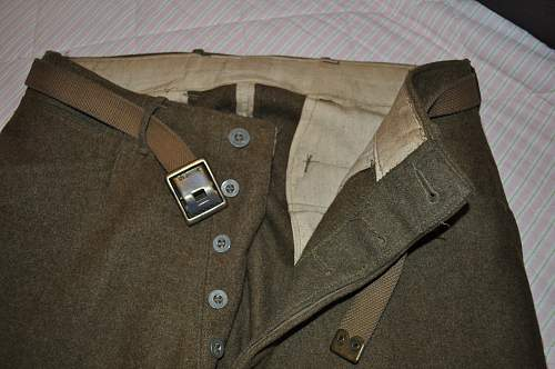 AEF M1917 uniform and equipment
