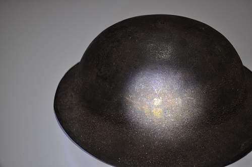British MK1 helmets for AEF