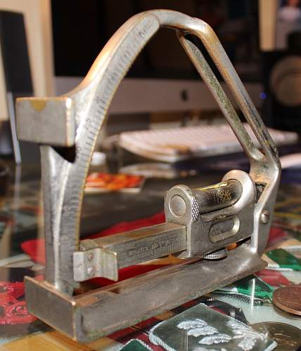 Clinometer Field Mark IV No 9383 Taylor, Taylor & Hobson Ltd 1916.