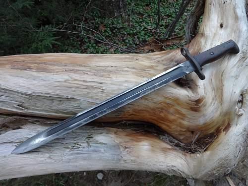 US 1905 model bayonet