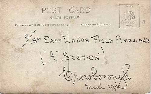 WW1 Medics bag ID