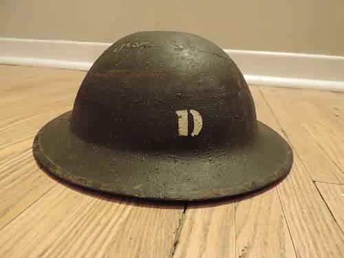 ww1 British brodie helmet