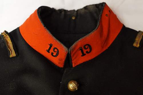 French M1897 WW1 Artillery Tunic?