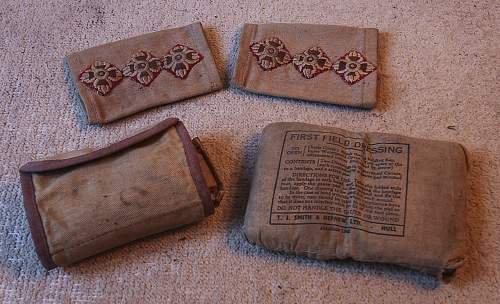 Various Articles belonging to Captain J W Lyon 233845 (Image Heavy)