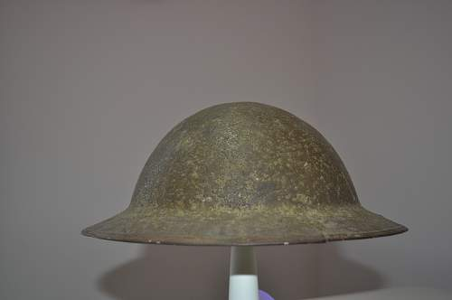 British Army MK1 helmet