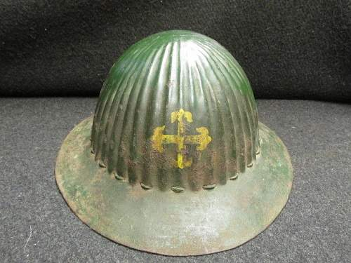 Portuguese M16 helmet for your review