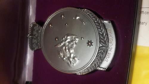 Gallipoli 1915 medallion