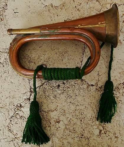 WW1 or Post WW1 Bugle??