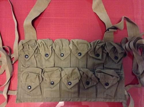 WW1 US grenade vest