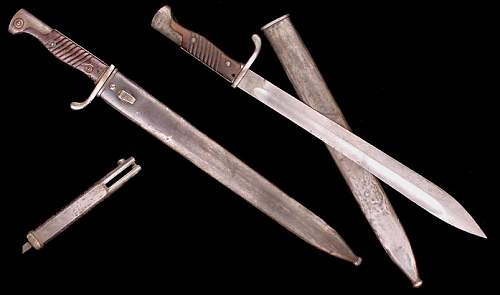1918 trench knife
