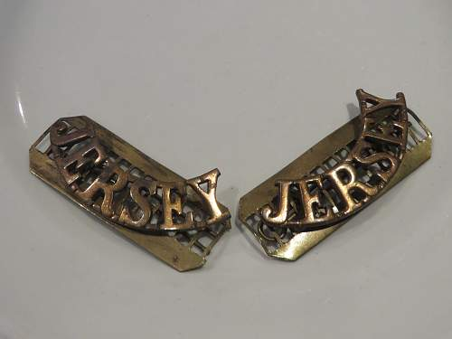 Jersey Militia items