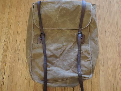 WW1 Private Purchase Backpack?? HUGE!!!