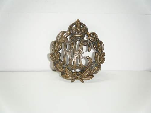 RFC Cap Badge