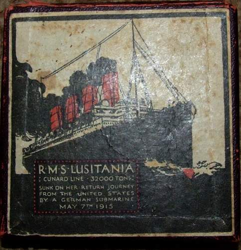 101 years ago today, the sinking of the Lusitania