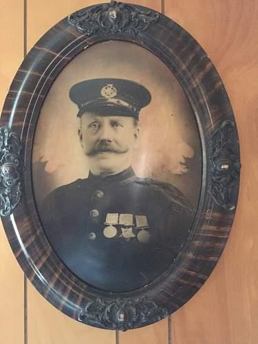 WWI portrait of soldier