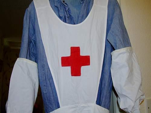 WW1 V. A. D. uniform