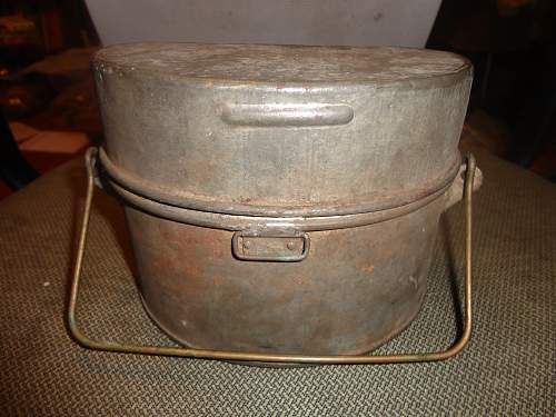 Unissued 1918 Canadian D  Mess Tin