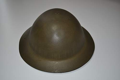 Ever seen a MKI helmet with broad arrow on padding & brim stamped M/A?