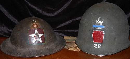 WW1 USMC Helmet