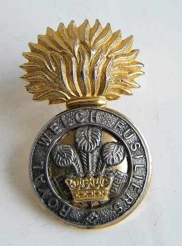 Click image for larger version.  Name:RWF PRI beret badge 1.jpg Views:3 Size:286.6 KB ID:973437
