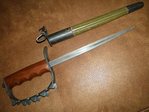 HD&S M1917 Tench Knife (Knuckle Duster!)