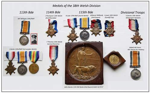 The Welsh at the Somme and Mametz Wood medals