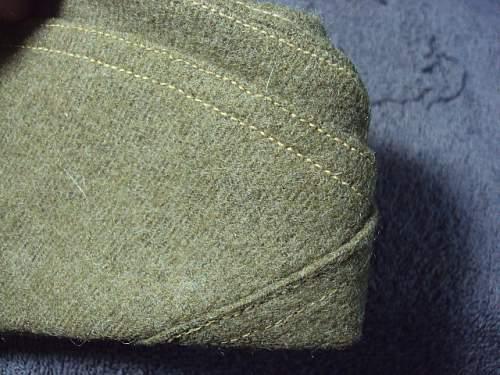 WW1 British OS Cap or British Made U.S. Cap ??