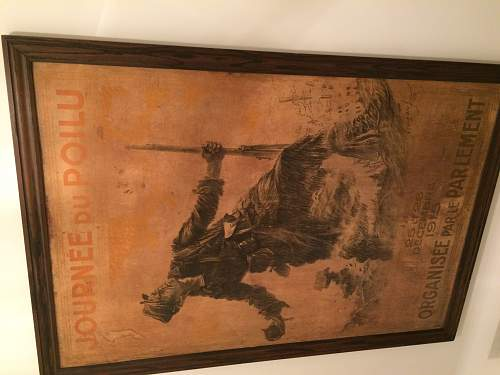 WW1 French Poster need help