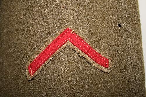 US AEF uniform