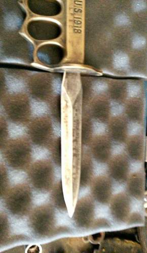 U.S. 1918 Trench Knife Authentic?