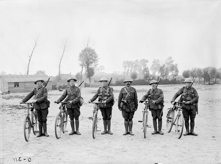 Canadian Corps Cyclist Battalion Rimless Brodie