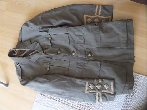 Todays find WW1 British tunic at rubbish dump